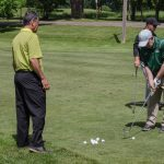 This was a great chance to get tips on what to correct in attenders golf game.