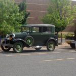 Now that's a vintage car!