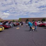There was a great turn out today for both exhibitors and spectators.
