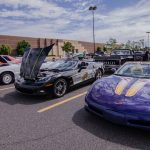 A few corvettes joined us on the lot