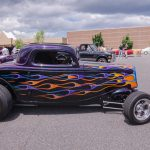 This hot rod had some gorgeous paint.