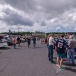 Spectators enjoyed the display of over 100 cars!