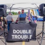 Double Trouble DJ dropping tunes for everyone.