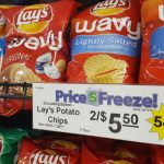 Lay's potato chips on sale at Econo Foods.