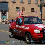 Ryan Ranguette of Fox Sports Marquette Drives Marquette Redmen Car