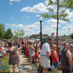 Marquette 4th of July Parade 2017 Crowds Enjoying Lovely Weather and Patriotic Displays