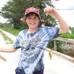 Taliesan - All Smiles with His Sunfish by Sara Siekierski_USFWS