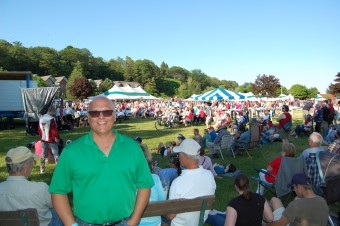 Todd Noordyk of Great Lake Radio in Packed International Food Fest - July 4, 2017