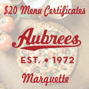 $20 certificate