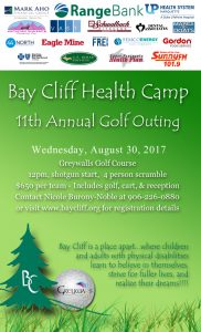 Attend the 11th Annual Bay Cliff Golf Outing at Greywalls Golf Course