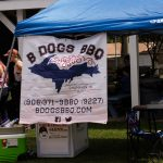 Thanks to B Dogs BBQ coming out today.