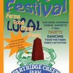 Attend the 1st Annual Partridge Farm Harvest Festival