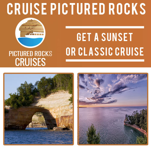 take a sunset or classic boat ride from Pictured Rocks Cruises