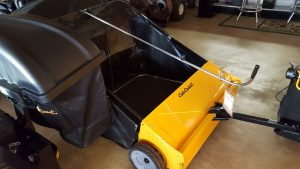 """The 44"""" Lawn Sweeper at Four Seasons Small Engine."""