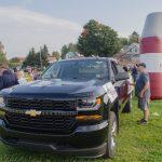 The black Chevy Silverado