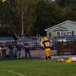 Negaunee Miners put up a good defensive line against the Iron Mountain Mountaineers 09/15/17