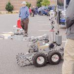 The bomb squad robot