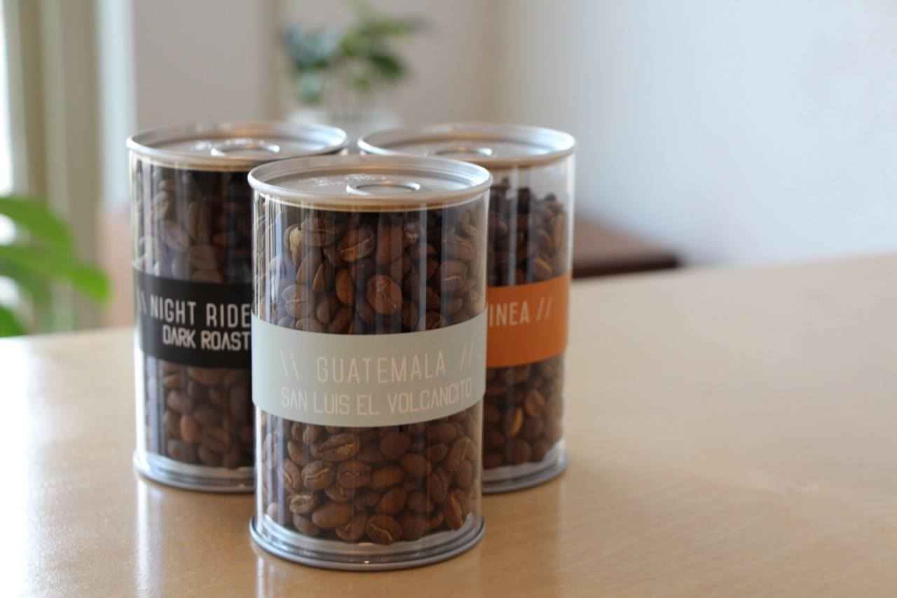 Pick up some new coffee from Velodrome Coffee Company in Marquette