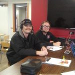 We got to interview a number of Wendy's staff on-air today!