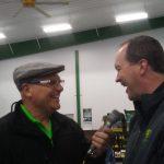 Matt Arnold, John Deere Regional Sales Manager with Major Discount.