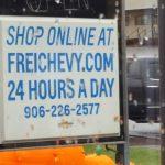 Frei Chevy Marquette MI No Tricks Just Treats Sale October 27 2017 – 17
