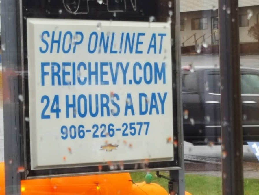 Frei Chevy Marquette MI No Tricks Just Treats Sale October 27 2017 - 16
