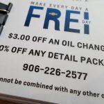 Frei Chevy Marquette MI No Tricks Just Treats Sale October 27 2017 – 19
