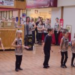 Dancers of all ages attended.