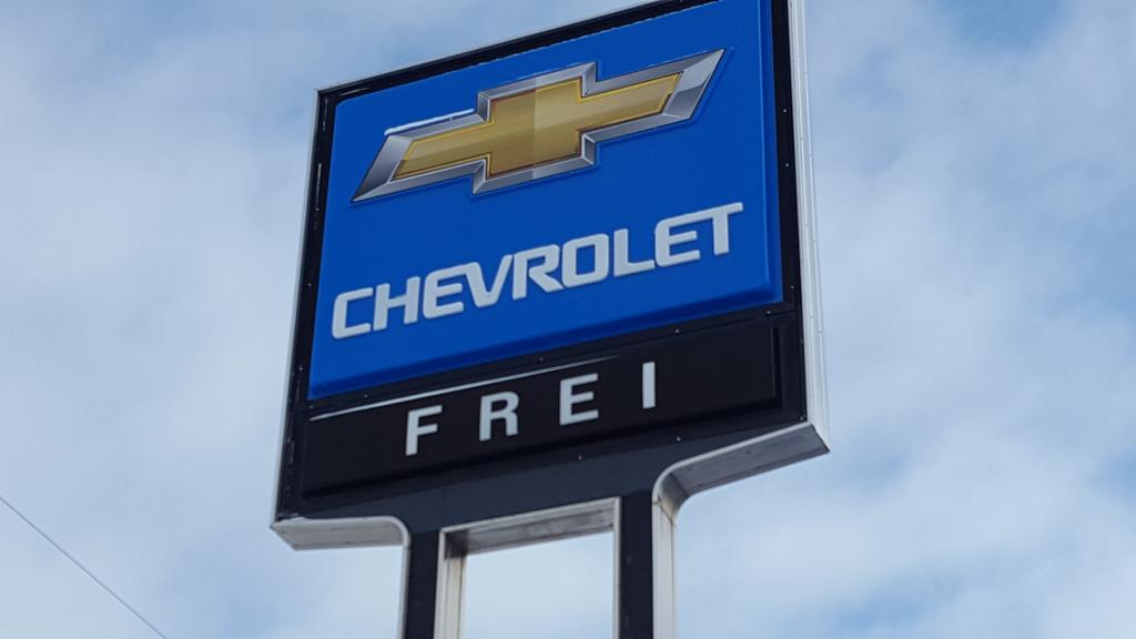 We're out reporting live from Frei Chevrolet!
