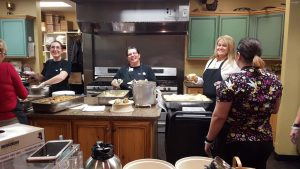 Thanks to the Freighter View Assisted Living Staff for putting on such a great meal.