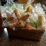 The staff also made goodie bags for the residents and families to enjoy.