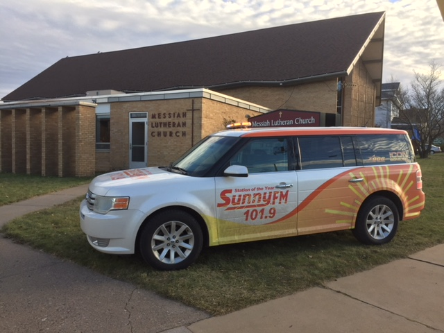 Joe is reporting live from Messiah Lutheran until 5 pm!