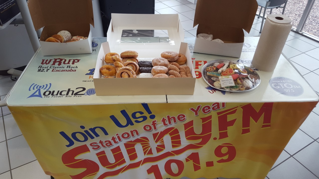 Lots of doughnuts at Frei Chevrolet!