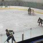 Action shot for the Negaunee Miner Hockey VS Kingsford Flivvers game!