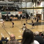 Miners Boys basketball VS ModelTowners third quarter action.