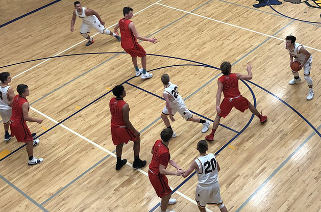 Negaunee Miners Boys Basketball Team Plays the Marquette Redmen on Sunny 101.9