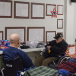 There was quite a lot to look through during Christmas is for Veterans.