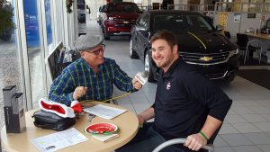 Major Discount and Andy talking about the great sales at Frei Chevrolet