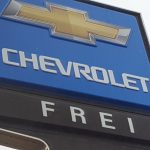 The Frei Chevrolet sign