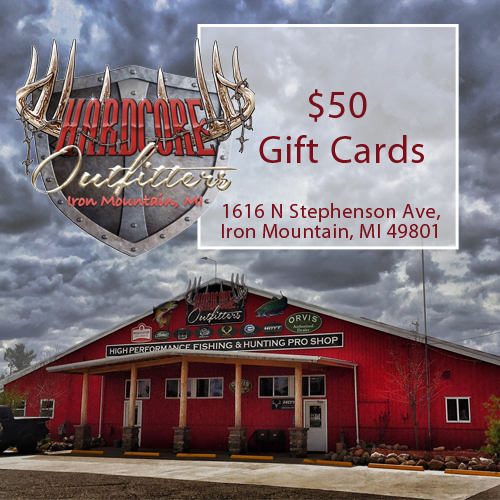 Use a $50 Gift Card from UPBargains.com during your next trip to HARDCORE Outfitters.