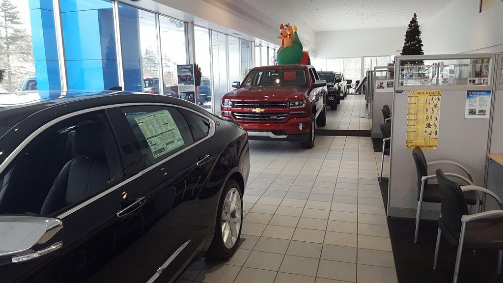 The always friendly staff at Frei Chevrolet