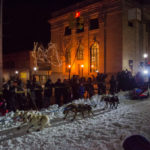 Catch the mushers at the finish line in Lower Harbor between 12-3p on Sunday.
