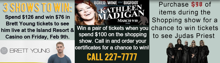 Win Tickets on the Shopping Show!