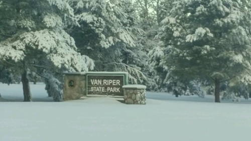 Van Riper State Park Lantern Lit Snowshoe Trail February 17th and March 16th