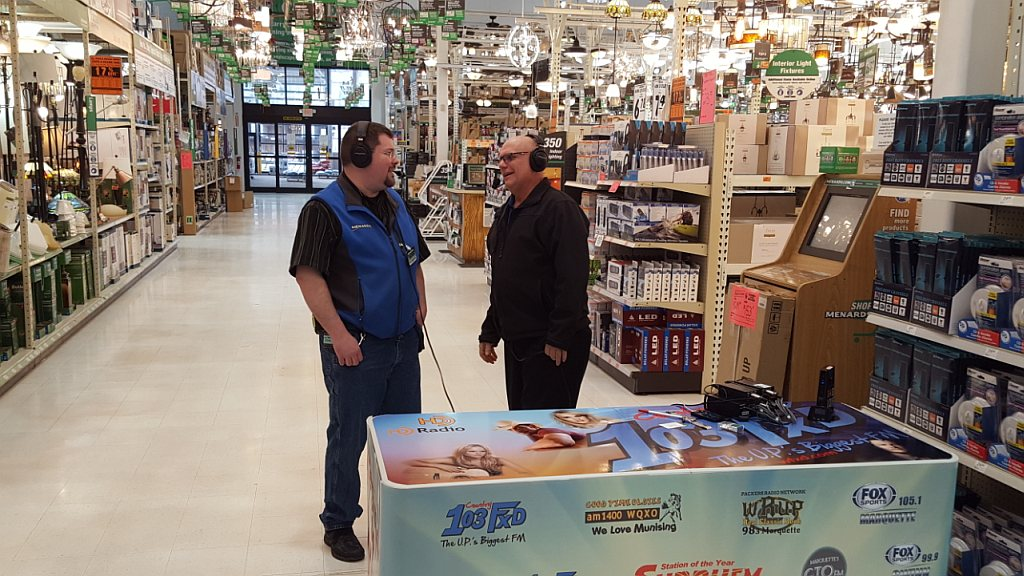 Major Discount and Marquette Menards store manager Darren Miller bringing you all the deals from Menards