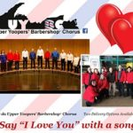 da Upper Yoopers' Barbershop Valentines Serenades - Pete Stephens-Brown on the 8th Day