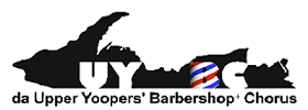 da Upper Yoopers' Barbershop Valentines Serenades - Pete Stephens-Brown on the 8th Day