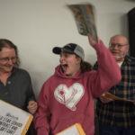 Tasha Vangundy drew the winning envelope.