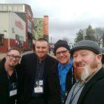 Great Lakes Radio's Ryan Ranguette, Bruce Whitehead, Todd Noordyk, and Alex Baysore.