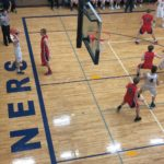 Negaunee Miners Boys Basketball VS Westwood Patriots in the Districts on Sunny FM